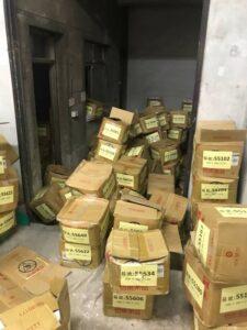 台北醫學大學庫房文件整理搬運善後清潔