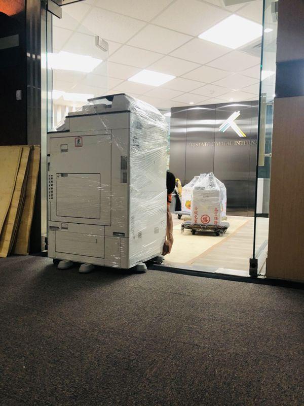 台北市搬家案例.松山區三邦國際公司喬遷辦公用品搬運5